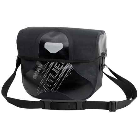 Ortlieb Ultimate6 Black N' White Handlebar Bag - Waterproof in Black - Closeouts