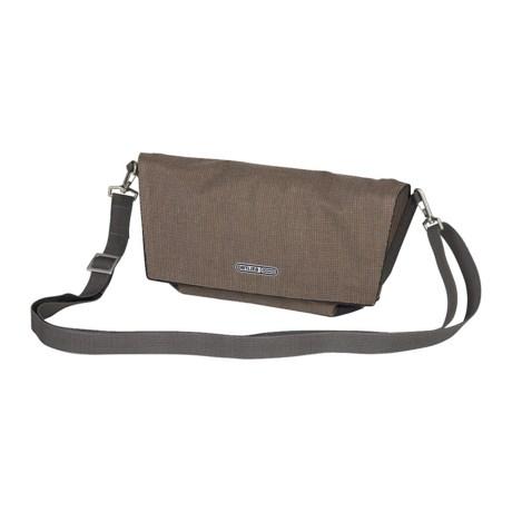 Ortlieb Velo-Pocket Handlebar Bag in Coffee