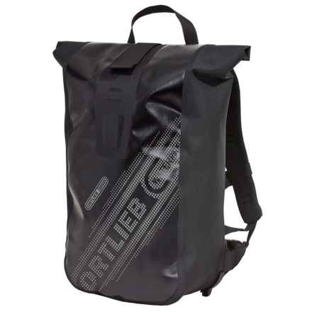 Ortlieb Velocity Black N' White Commuting 20L Backpack - Waterproof in Black - Closeouts
