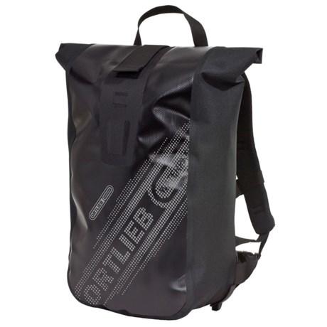 Ortlieb Velocity Black N' White Commuting 20L Backpack - Waterproof in Black