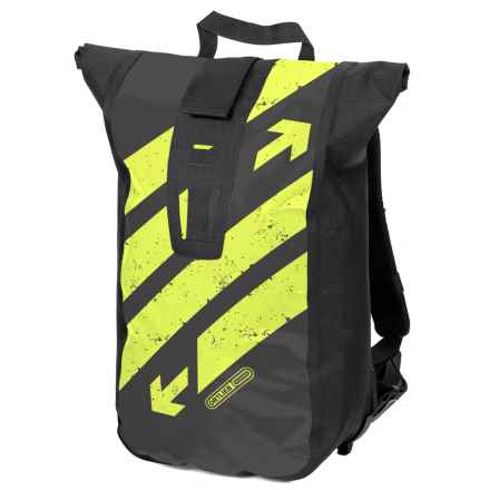 Ortlieb Velocity Design Backpack in Black/Neon - Closeouts