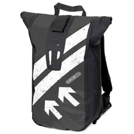Ortlieb Velocity Design Backpack in Black/White - Closeouts