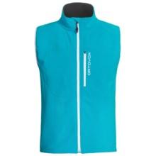 Ortovox Andermatt Soft Shell Vest (For Men) in Blue Lagoon - Closeouts