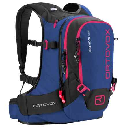 Ortovox Free Rider Backpack - 22L (For Women) in Strong Blue - Closeouts