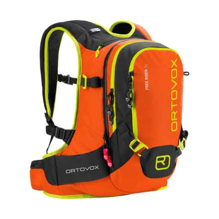 Ortovox Free Rider Backpack - 24L in Crazy Orange - Closeouts