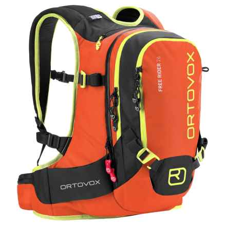 Ortovox Freerider 26L Backpack in Crazy Orange - Closeouts