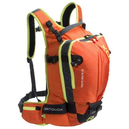 Ortovox Haute Route 35 Backpack in Crazy Orange - Closeouts