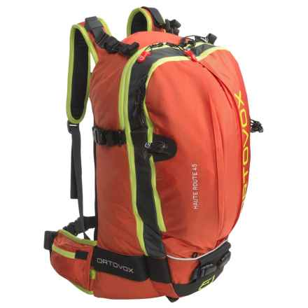 Ortovox Haute Route 45 Ski Backpack in Crazy Orange - Closeouts