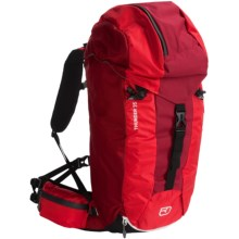 Ortovox Thunder 35+ Climbing Backpack in Red Lava - Closeouts
