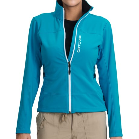 Ortovox Tofana  Soft Shell Jacket (For Women) in Blue Lagoon