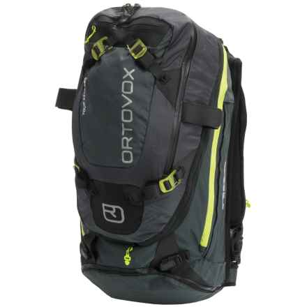 Ortovox Tour 32+7 ABS Backpack in Black/Anthracite - Closeouts