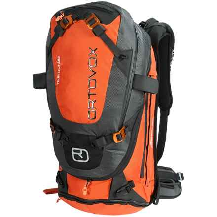 Ortovox Tour 32+7 ABS Backpack in Crazy Orange - Closeouts