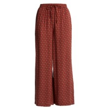 Orvis Print Pants (For Women) in Red - Closeouts