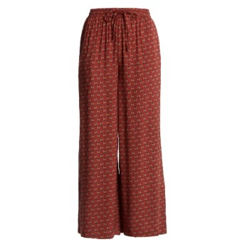 Orvis Print Pants (For Women) in Red