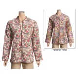 Orvis Print Reversible Jacket - Quilted Cotton (For Women)