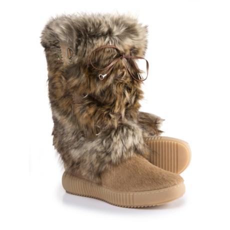 Oscar Sport Tall Faux-Fur Boots (For Women) - Save 65% f8d1f3c709