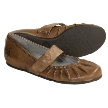 OTBT Aurora Mary Jane Shoes - Leather, Flats (For Women) in Sandstone - Closeouts