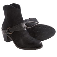 OTBT Bedford Suede Ankle Boots (For Women) in Black - Closeouts