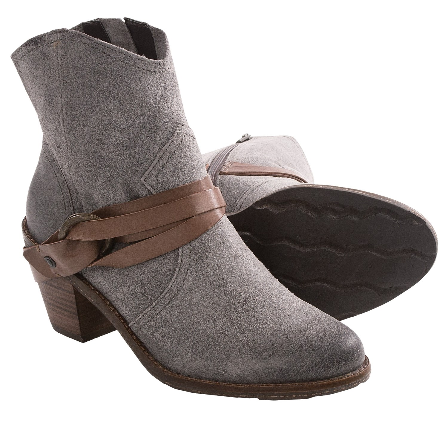 otbt bedford suede ankle boots for save 33