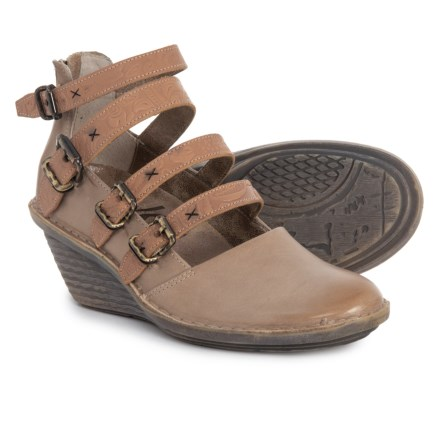72f3130a3caf Clearance. OTBT Biker Mary Jane Shoes - Leather (For Women) in Pecan -  Closeouts
