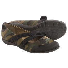 OTBT Bristol Mary Jane Shoes (For Women) in Camo Canvas - Closeouts