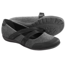 OTBT Bristol Mary Jane Shoes (For Women) in Steel Pewter Fabric - Closeouts