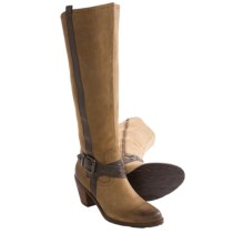 OTBT Brule Tall Boots (For Women) in Mud - Closeouts