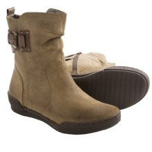 OTBT Cataio Ankle Boots (For Women) in Mud Suede - Closeouts