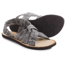 OTBT Citrus Sandals (For Women) in Grey Paisley - Closeouts