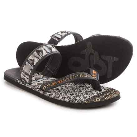 OTBT Cokato Sandals (For Women) in Black - Closeouts