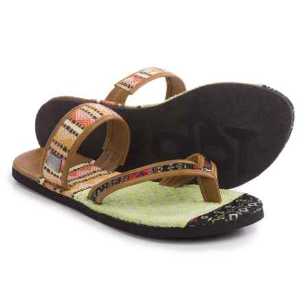 OTBT Cokato Sandals (For Women) in New Tan - Closeouts