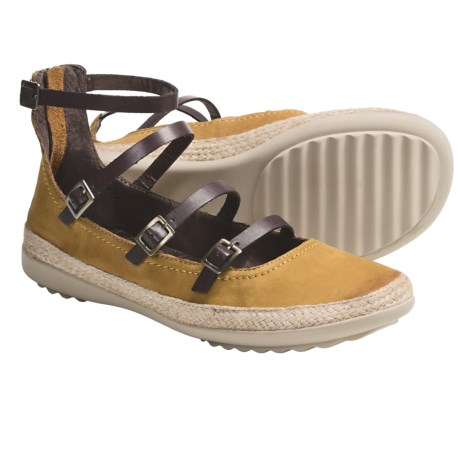 OTBT Copan Shoes - Leather (For Women) in 243 Mustard
