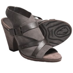OTBT Delhi Sandals - Leather (For Women) in Mint