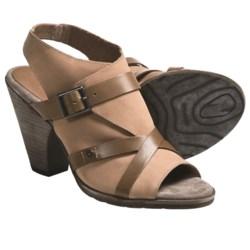OTBT Delhi Sandals - Leather (For Women) in Sahara