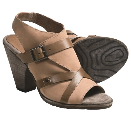 OTBT Delhi Sandals - Leather (For Women) in Sahara