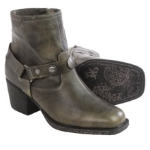 OTBT Dugas Ankle Boots (For Women) in Beige Black - Closeouts
