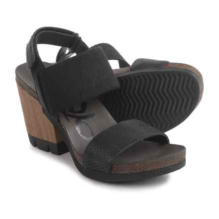 OTBT Duty Free Platform Sandals (For Women) in Black - Closeouts