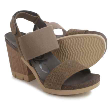 OTBT Duty Free Platform Sandals (For Women) in Mint - Closeouts