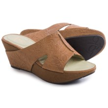 OTBT Hannibal Sandals - Leather (For Women) in Tawny Brown - Closeouts