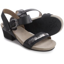 OTBT La Luz Sandals (For Women) in Black Scale - Closeouts