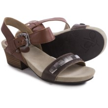 OTBT La Luz Sandals (For Women) in Chestnut - Closeouts