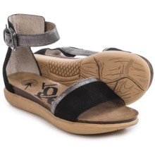 OTBT Martha TX Sandals (For Women) in Black/Silver - Closeouts