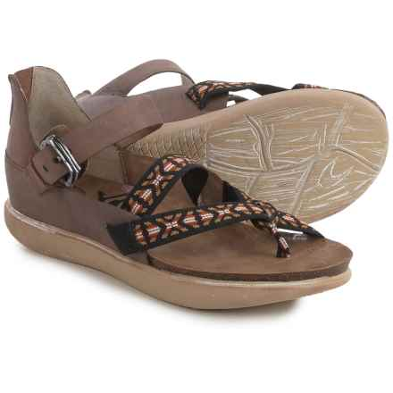 OTBT Morehouse Strappy Sandals - Suede (For Women) in Brown - Closeouts