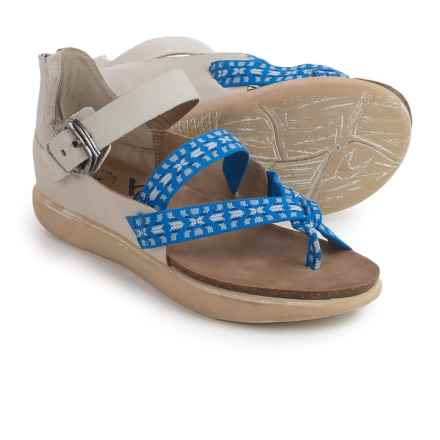 OTBT Morehouse Strappy Sandals - Suede (For Women) in Stone - Closeouts