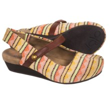 OTBT Springfield Sling-Back Clogs (For Women) in Mandarin Print - Closeouts