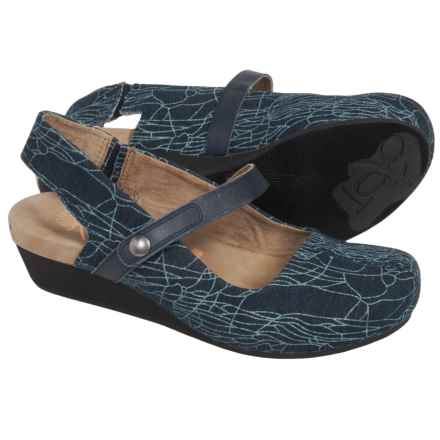 OTBT Springfield Sling-Back Clogs (For Women) in Navy Marine - Closeouts