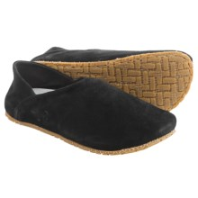 OTZ Shoes 300GMS Goat Suede Shoes - Slip-Ons (For Women) in Black - Closeouts