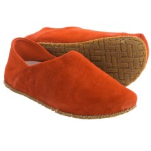 OTZ Shoes 300GMS Goat Suede Shoes - Slip-Ons (For Women) in Blood Orange - Closeouts