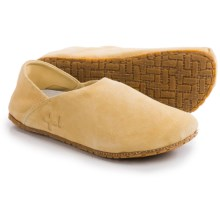 OTZ Shoes 300GMS Goat Suede Shoes - Slip-Ons (For Women) in Sand - Closeouts