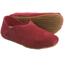 OTZ Shoes 300GMS Goat Suede Shoes - Slip-Ons (For Women) in Wine - Closeouts